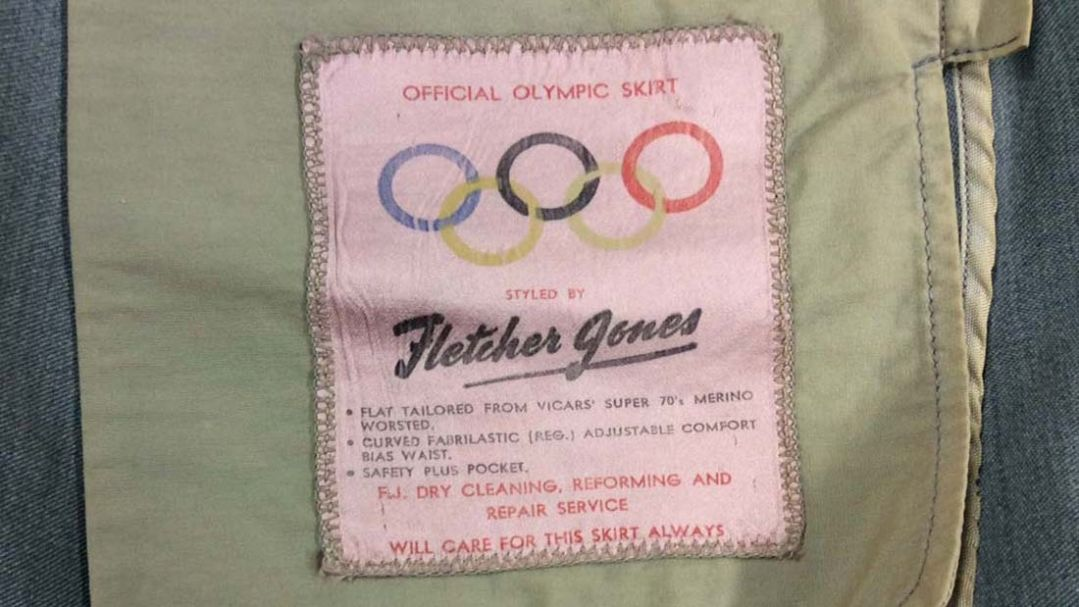 Patch on a 1956 Melbourne Olympic Games Skirt, University of Melbourne Archives